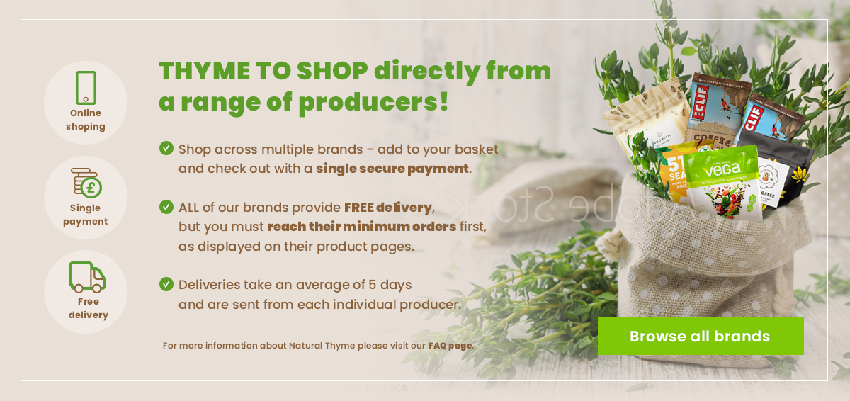 Buy directly from producers with an easy and single payment and free delivery